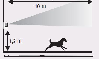 22 detecteur de mouvement pour chien. Black Bedroom Furniture Sets. Home Design Ideas